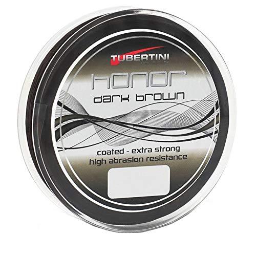 Tubertini Honor Dark Brown D 0.25 mm 150 m Nylon Ligne de Pêche Monofilament Fil Mer Eau Douce Spinning Carnassiers