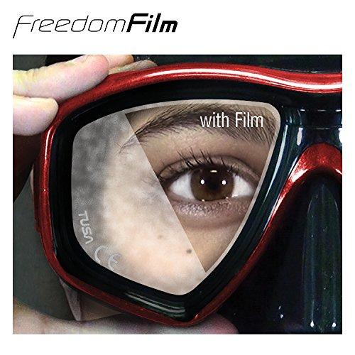 51dM6XZQfdL - TUSA Anti-Fog Freedom Film for all Scuba/Snorkeling 2-Window Masks
