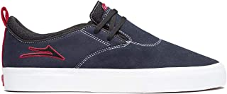 Lakai Skateboard Shoes Riley 2 Independent Navy Suede