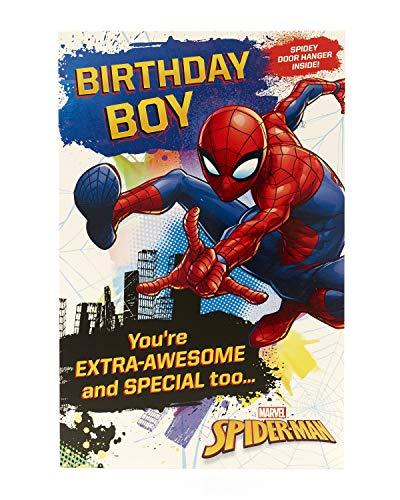 Carlton 553192–0Marvel Spiderman Geburtstagskarte