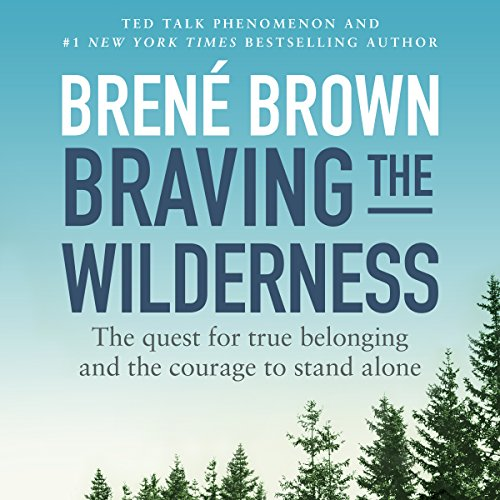 Braving the Wilderness audiobook cover art