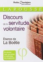 Le discours de la servitude volontaire d'Etienne de La Boétie