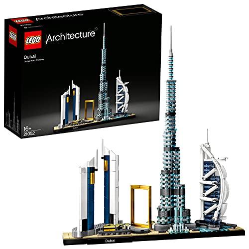 LEGO 21052 Architecture Dubai Skyline-Kollektion, Bauset für Sammler