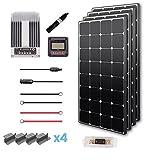 Renogy 400 Watts 12 Volts Eclipse Monocrystalline Solar Premium Kit