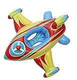 Lukis Baby Kleinkinder Schwimmsitz Babysicherheitsring Aufblasbare Flugzeug Schwimmenring 100cm