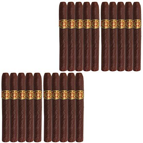 com-four® 20x Sigaro giganti Falsi per Costume da Gangster Mafioso - sigari fittizi per Travestimento di Carnevale, 12 cm (20 Pezzi - Sigaro)
