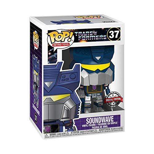 Funko Pop! Transformers 37 Battle Damaged Soundwave Exclusive Figure