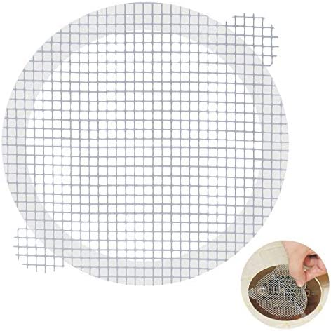 Aire Allure 25 Pack Disposable Shower Drain Hair Catcher Mesh Stickers product image