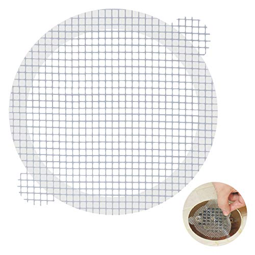 Aire Allure, 25 Pack, Disposable Shower Drain Hair Catcher Mesh Stickers