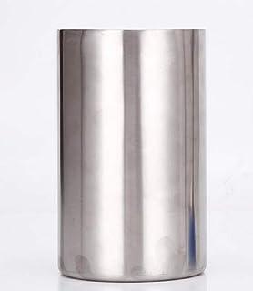 【morningplace】 ステンレス ワインクーラー 二重構造 クーラー お洒落 12cm x 19.5cm (1個)