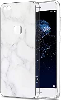 Pnakqil Huawei P10 Lite Case, Transparent Clear with Stylish Patterned Ultra Slim Protective Shockproof Soft Gel TPU Silic...