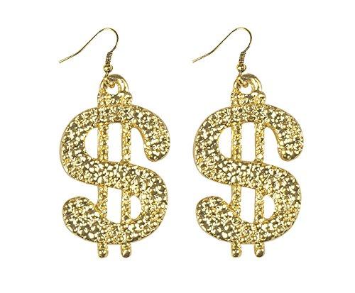 Boland 64472 Ohrringe Dollar, One Size