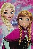 COPERTA Plaid Frozen Elsa Anna Disney in Pail CM.100x150 - 55884...