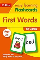 First Words Flashcards: Ideal for Home Learning (Collins Easy Learning Preschool)