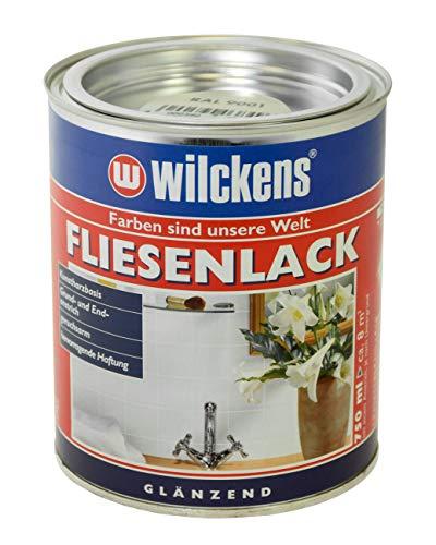 Wilckens Fliesenlack 750ml, Farbe:krem weiß
