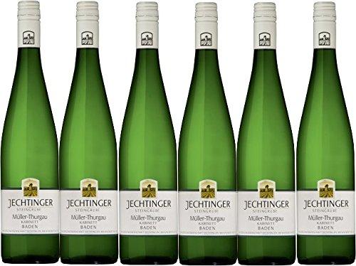 Winzergenossenschaft Jechtingen-Amoltern Jechtinger Steingrube Müller-Thurgau Kabinett lieblich (6 x 0,75L)