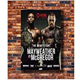 Carteles e Impresiones Conor Mcgregor VS. Floyd Mayweather Jr. HQ UFC 205 Sport Boxing Art Poster Canvas Painting Home Decor-50x70cm Sin Marco