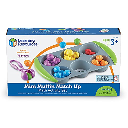 Learning Resources Mini Muffin Match -...