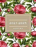 Agenda 2021-2025: 2021-2025 Planificador de Cinco Años, Planificador diario de cinco años, libreta, anotar, agenda y diario personal, calendario de 60 meses, cita de 5 años