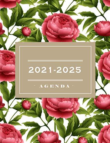 Agenda 2021-2025: 2021-2025 Planificador de Cinco Años, Planificador diario de cinco años,...