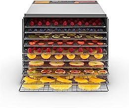 Klarstein Fruit Jerky Pro 10 - Déshydrateur alimentaire, Puissance 1000W, 10 larges étages, Surfache de séchage env.1,5m²,...