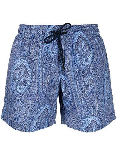 Etro Luxury Fashion Herren 1B35012200250 Blau Polyester Badeboxer | Ss21