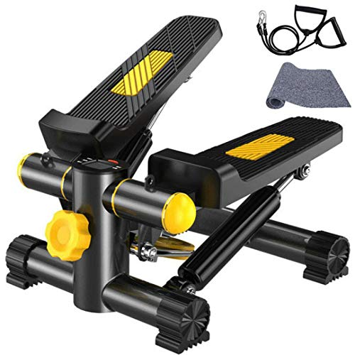 VIN Vinteky Stepper Fitness con Bande di Allenamento Display LED (30 * 30 * 16CM) (A)