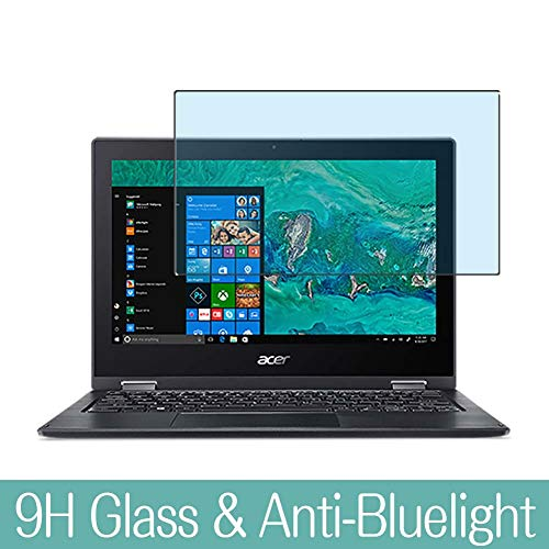 Synvy Anti Blue Light Tempered Glass Screen Protector Compatible with Acer Spin 1 SP111-33 / SP111-34N 11.6' Visible Area 9H Protective Screen Film Protectors (Not Full Coverage)
