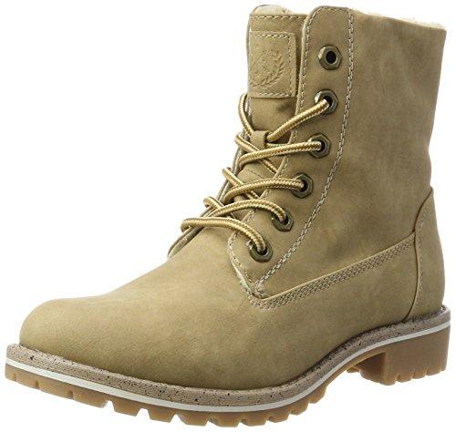 JANE KLAIN Damen 253 529 Combat Boots, Beige (Birch), 39 EU