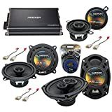 Compatible with Toyota Tacoma 2005-2014 Factory Speaker Upgrade Harmony Speakers...