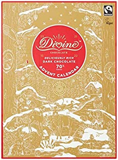Divine Dark Chocolate Advent Calendar 85g, Christmas