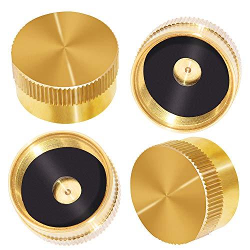 Solid Brass Refill 1 LB Propane Bottle Caps
