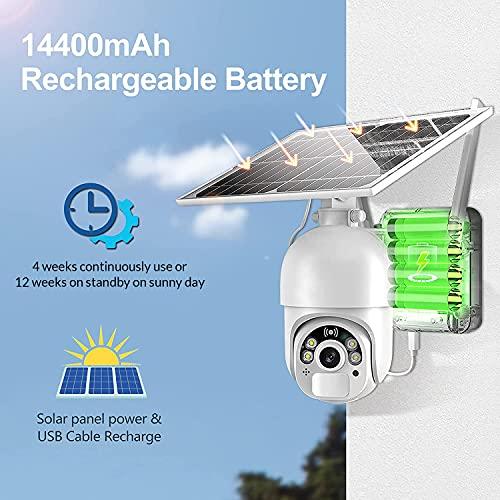 MPW Outdoor Dome Solar Cam