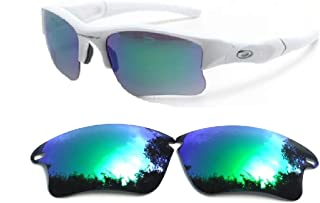 Galaxylense Men's Replacement Lenses For Oakley Fast Jacket Xl Sunglasses Polarized S