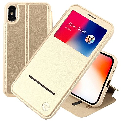 iPhone X Custodia Folio Case by Nouske