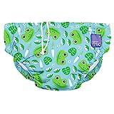 Bambino Mio, wiederverwendbare schwimmwindel, grasfrosch, S (0-6 Monate)