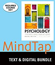 Bundle: Psychology: Themes & Variations, Loose-leaf Version, 10th + MindTap Psychology, 1 term (6 months) Printed Access Card