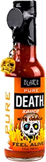 "Blair""s PURE DEATH Amerikanische Scharfe Sauce mit Jolokia 5oz = 150ml | 35.000 Scoville Heat Units SHU"