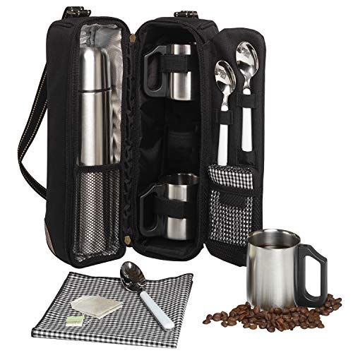 Picnic at Ascot Travel Coffee Tote for Two