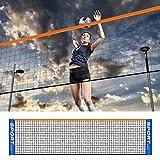 Correct Red De Bádminton para Exteriores, Red De Bádminton Portátil, Red De Voleibol, Red De Tenis De Repuesto para Deportes En Interiores O Exteriores