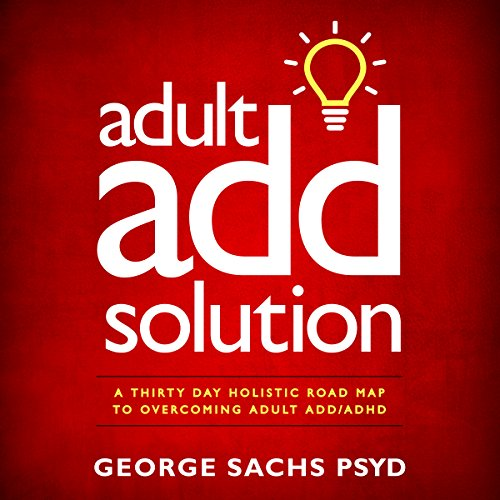 Adult ADD Solution audiobook cover art