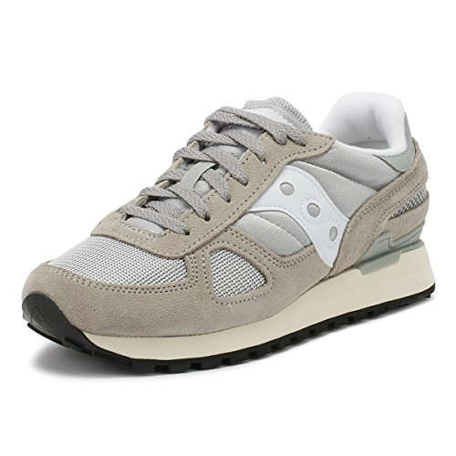 Saucony Shadow Original Vintage, Sneaker Uomo, Grey/White, 44.5 EU