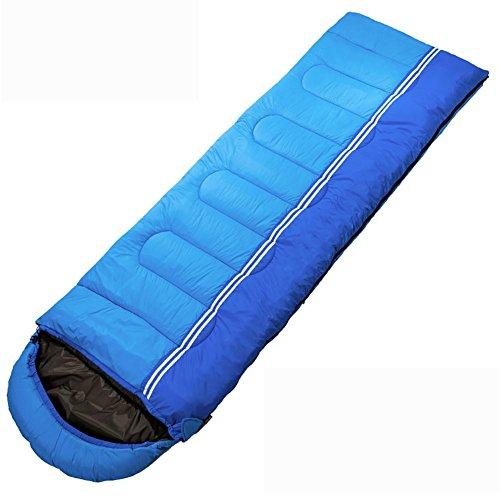 MIAO l'extérieur/à l'intérieur Four Seasons Camping Travel Adult Keep Warm sacs de couchage, days blue