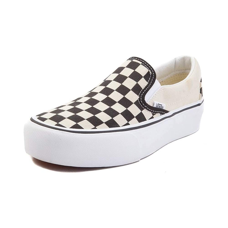 [VANS(バンズ)] 靴?シューズ スニーカー Vans Slip On Chex Platform Skate Shoe [並行輸入品]