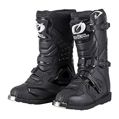 O'Neal Rider Boot MX Stiefel Schwarz Moto Cross Motorrad Enduro Boots, 0329-1, Größe, 44