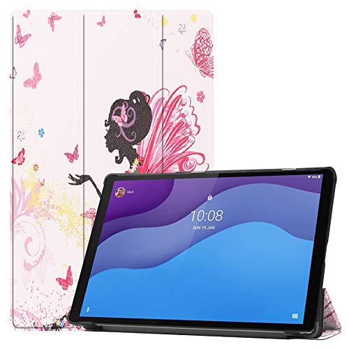 NUPO Funda para Lenovo Tab M10 HD (2nd Gen) 10.1' TB-X306F, Ultra Slim Cover Funda PU Ultra Leightweight Flip Funda con función atril para Lenovo Tab M10 HD Gen 2 10.1 pulgadas, Color09