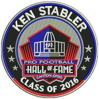 Football Ken Stabler 2016 PRO Hall of Fame Patch RAIDERSPRE Order Item - Shipping Begins ON December 15TH