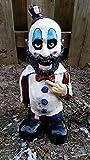 QPGVBP Horrorfilm Gartenzwerge - Nightmare Horror GNOME, Killer Garden GNOME, Spooky Undead Halloween Sculpture Combat GNOME für Home Patio und Garden Zombies GNOME Skulls Decor (D)
