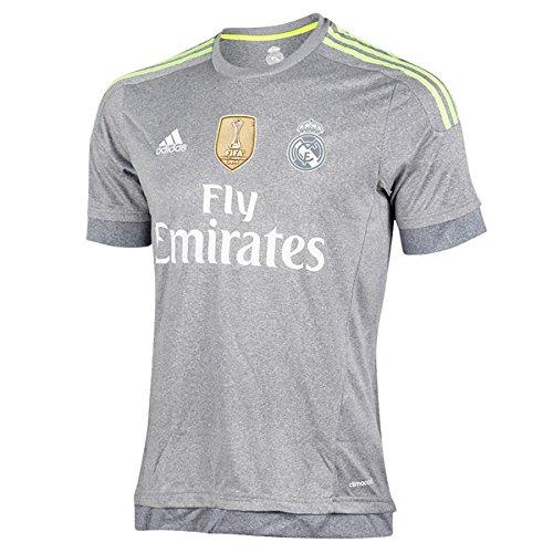 2º Equipación Real Madrid C.F 2015/2016 - Camiseta oficial adidas, talla XL