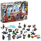 LEGO Marvel The Avengers Advent Calendar 76196 Building Kit, an Awesome Gift for Fans of Super Hero Building Toys; New 2021 (298 Pieces) from LEGO